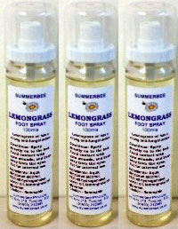 Lemongrass Foot Spray